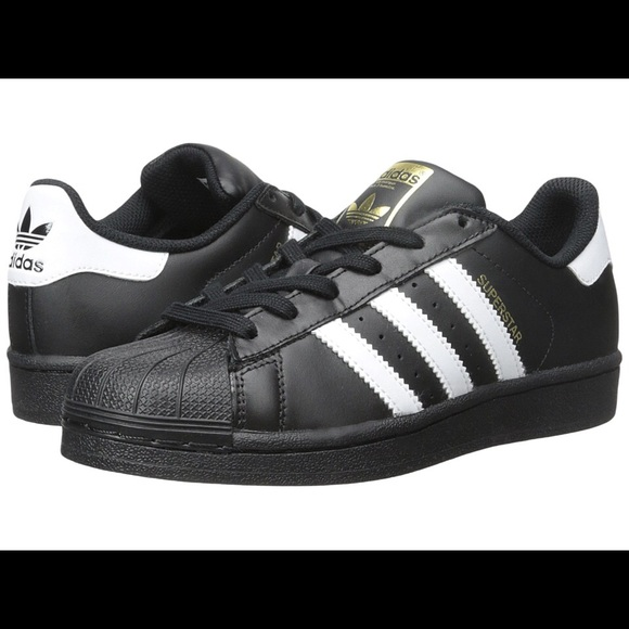 Adidas Superstar Sneakers Big Kids 4.5 W 6.5